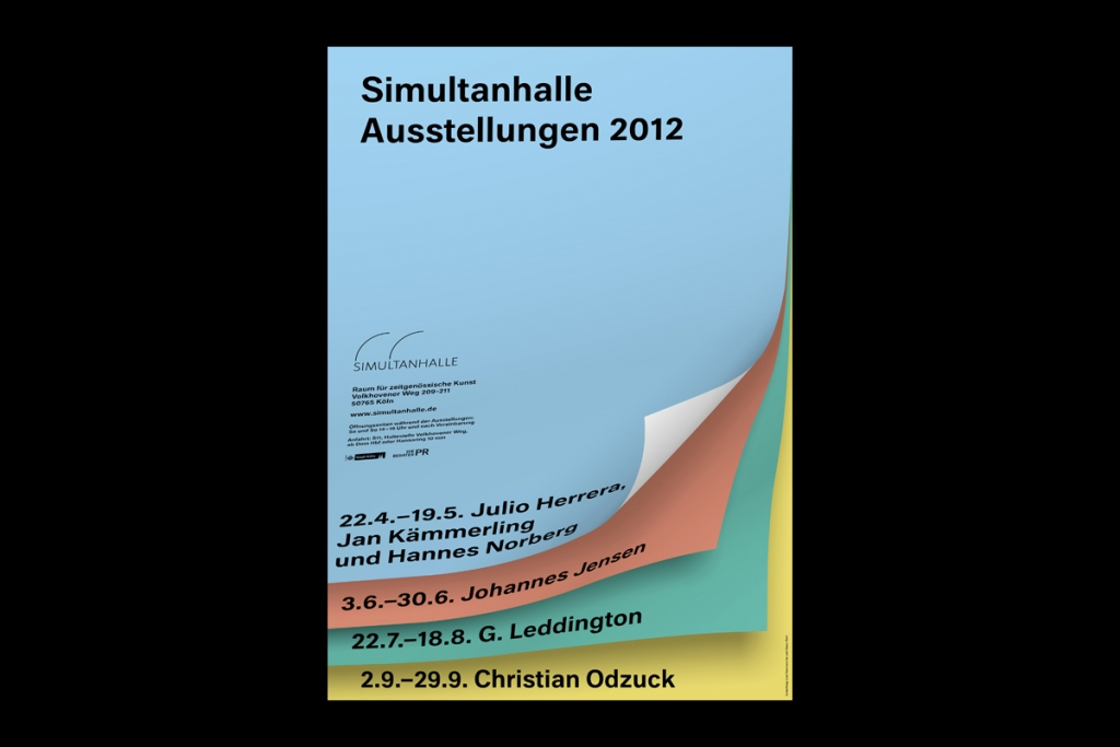 Simon Roth Graphic Design Simultanhalle 12
